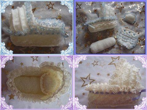 Angel Crib Knitting Pattern : Crib for Early Loss Babies- Baby...Preemie Knit & Crochet Pinterest