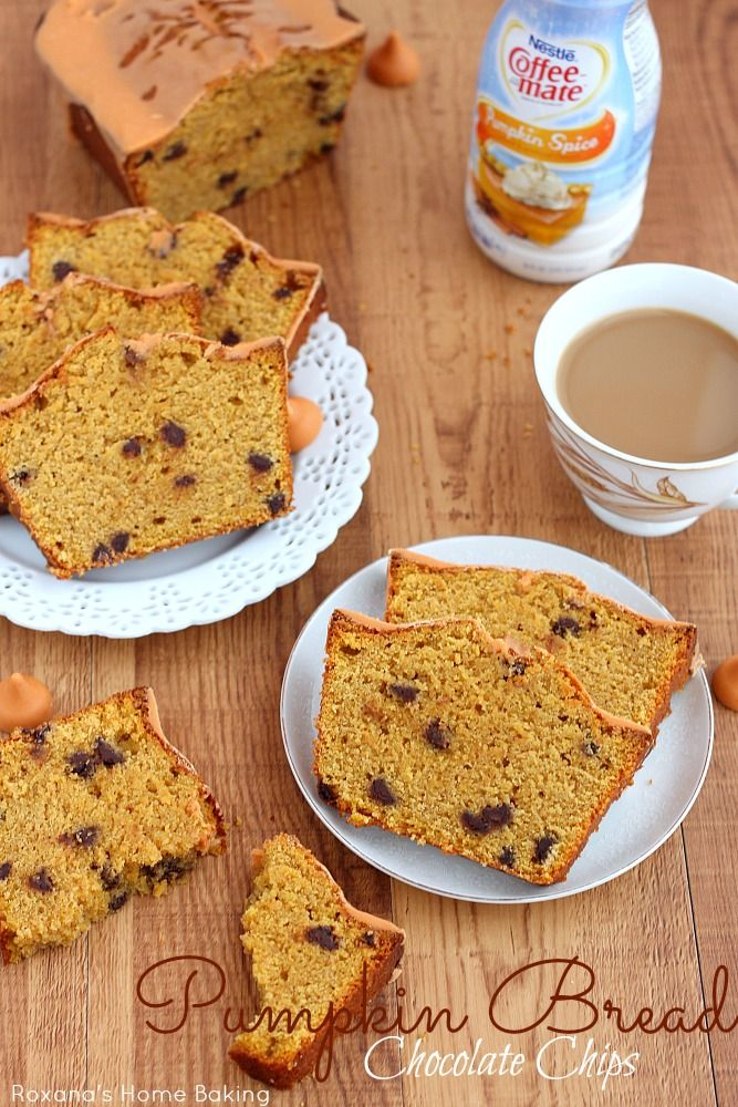 Chocolate chips pumpkin quick bread - sub ap for ww flour, and maybe a ...