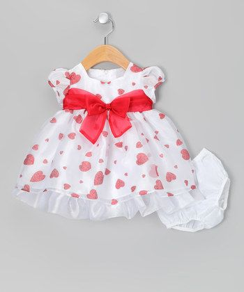 valentines day dress baby girl