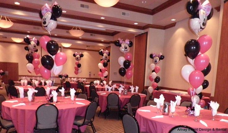 minnie mouse decorations | Minnie Mouse Balloon Party | Baby Shower