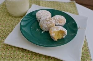 gluten-free mini powdered sugar doughnut muffins from Elizabeth ...