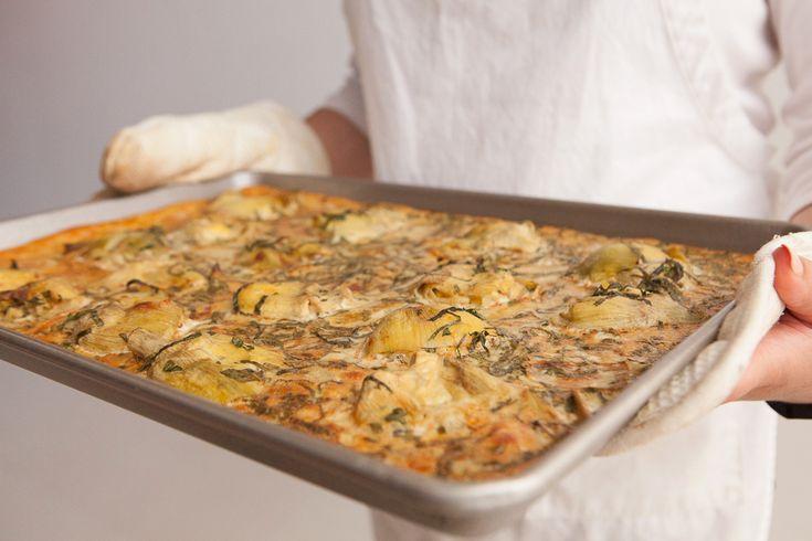 Artichoke Frittata | Yum! Meatless | Pinterest
