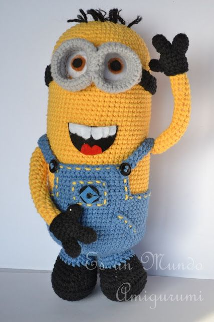 Amigurumi Minion Yapilisi : Minion Amigurumi Amigurumi / DIY Toys Crochet & Knitted ...