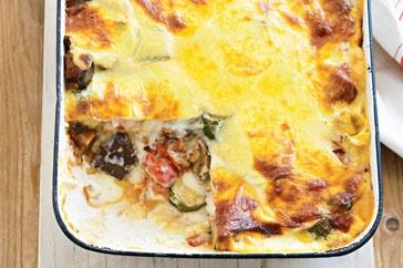 Ratatouille lasagne   noms: dinner   Pinterest