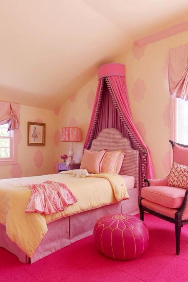 Pretty Pink Girls Room Kinsley 39 S Big Girl Room Pinterest