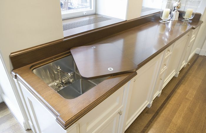LOVE the sunken bar sink. Wish wed thought of that. 1100 Park Avenue ...