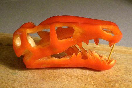 Dino-Pepper Skull