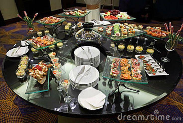 Buffet set up horeca pinterest