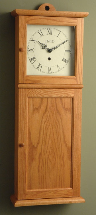 youngs shaker wall clock kit furniture interests pinterest