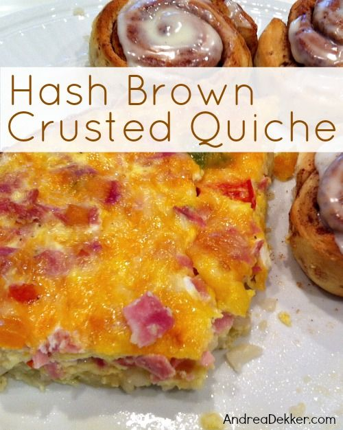 hashbrown crusted quiche*** | Christmas | Pinterest
