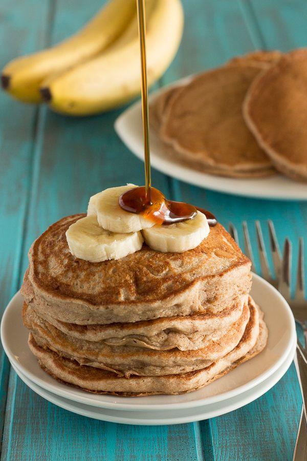 Fluffy Banana Pancakes 1 | Recipes | Pinterest