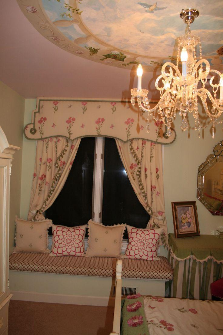 Beautiful window treatment interior design girls for Beautiful window treatments