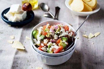 Avocado Feta Salsa | Recipe