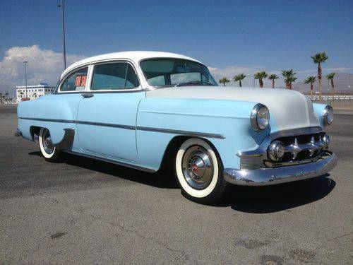 1953 Chevy 210, 2 door post   .Ratrods   Pinterest