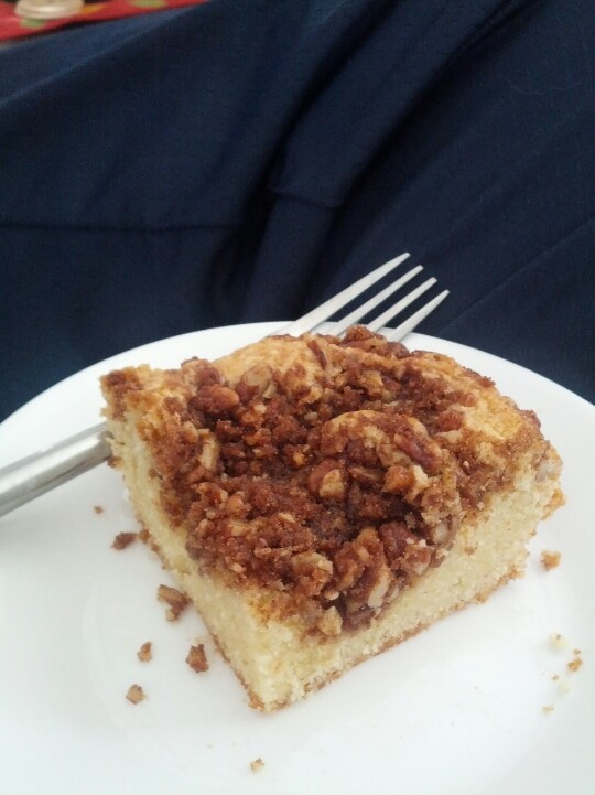 Steph's Amazing Pecan Coffee Cake | ♥ Coffee Cake Recipes ...
