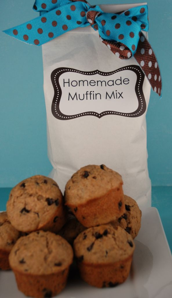 ... Homemade Muffin Mix {whole wheat peanut butter & jelly cereal muffins