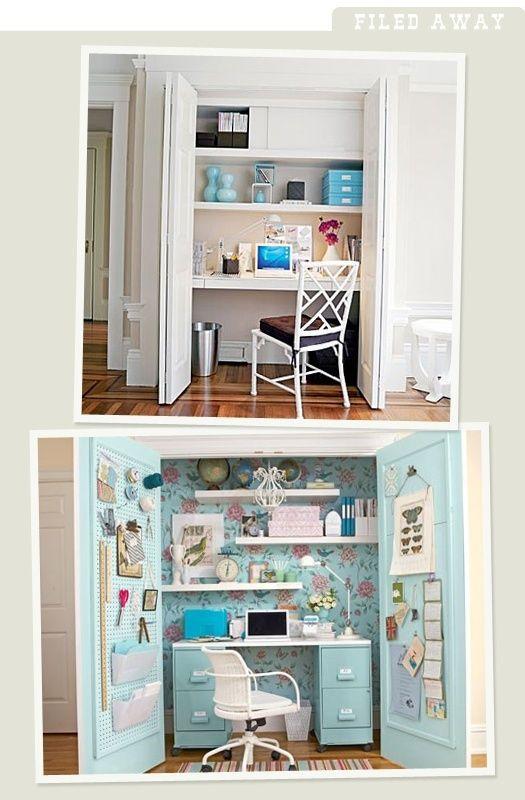 Closet office ideas more decorating ideas pinterest