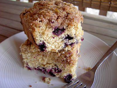 Vegan Thyme: Vegan Whole Grain Blueberry Crumb Coffecake (Cowls...