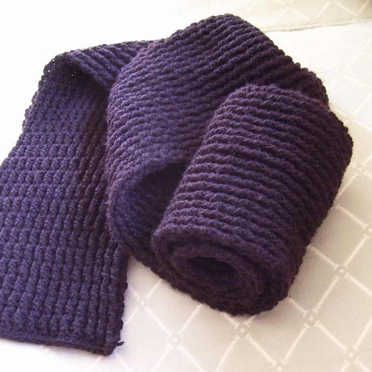 Crochet Mens Scarf : CROCHET PATTERN Mens Double Ribbed Scarf - Pattern PDF. $4.99, via ...