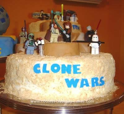 homemade star wars cakes