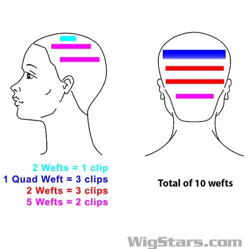 Fantastic Diagram For Hair Extensions