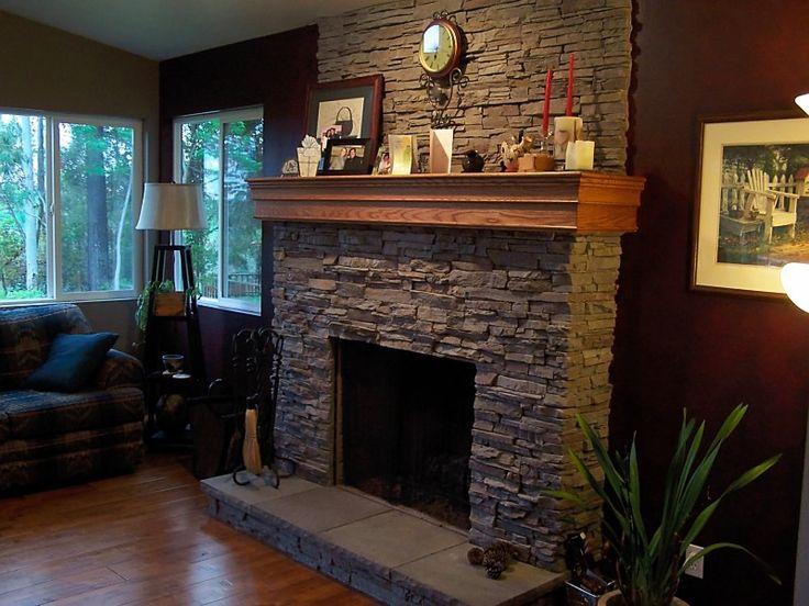 Wrap Around Mantel Living Room Pinterest