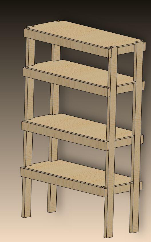 Diy storage shelf diy pinterest for Diy shelves pinterest