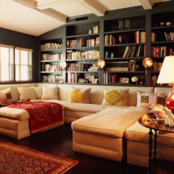 Cozy Family Media Room Homey Things Pinterest