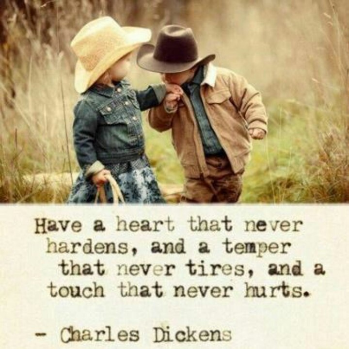 have a heart that never hardens quote