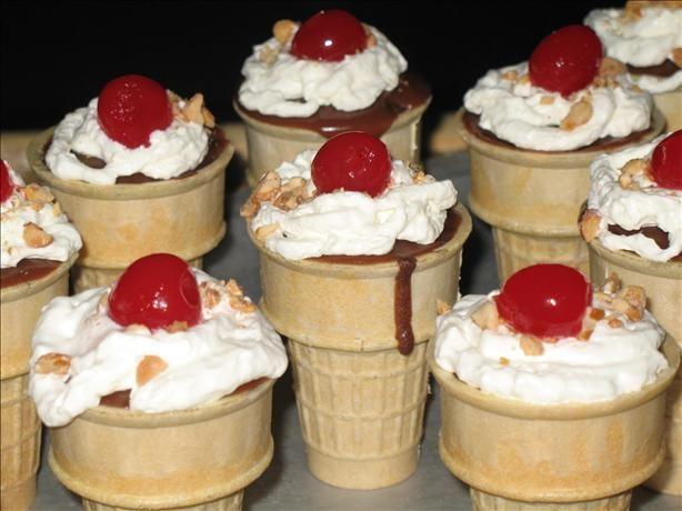 Cakes in a Cone | Recipe