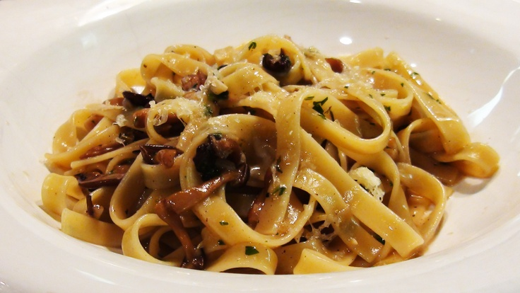 ... version of this Fettucini with Mushroom Sugo tonight (with