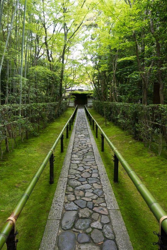 Daitoku-ji temple, Kyoto, Japan  Paths, Trails & Roads ♡♡♡  Pintere…