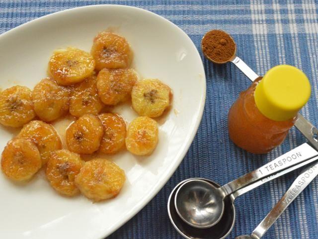 Honey Glazed Bananas - Dinner Happy | Food/desserts | Pinterest