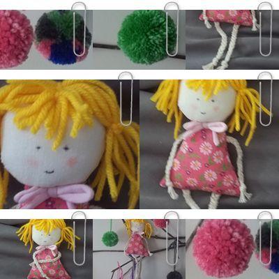 Bonequinha feita de sobra de tecido #reaproveitar #artesanato