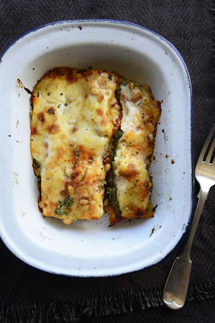 Ricotta and Spinach Cannelloni From The Kitchen