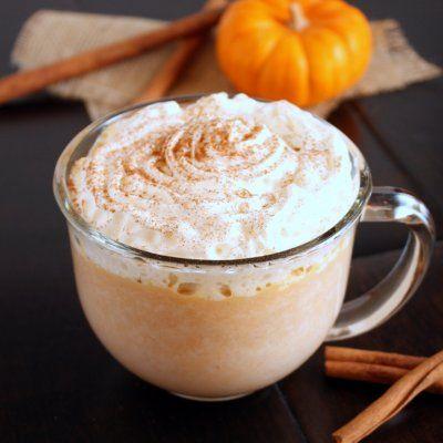 ... like white chocolate but this looks yummy! Pumpkin White Hot Chocolate