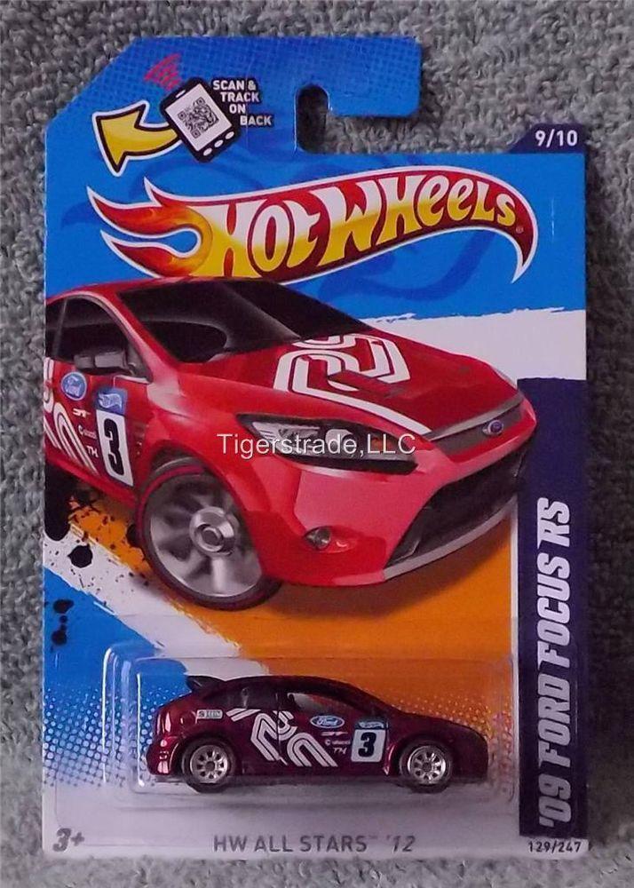 2012 HOT WHEELS RLC - SUPER TREASURE HUNT - FROM SET - '09 FORD FOCUS