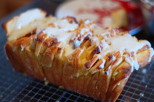 ... this in my life...pretty much right now! Lemon-Scented Pull-Apart Loaf