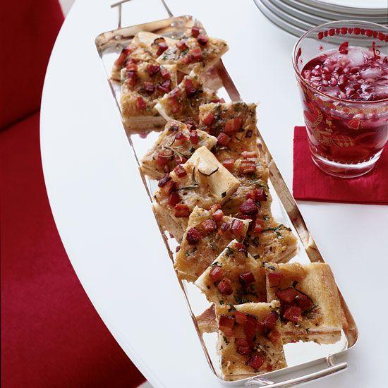 Alsatian Potato and Bacon Tart