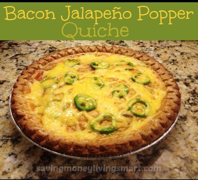 Jalapeno Popper Quiche Recipe — Dishmaps