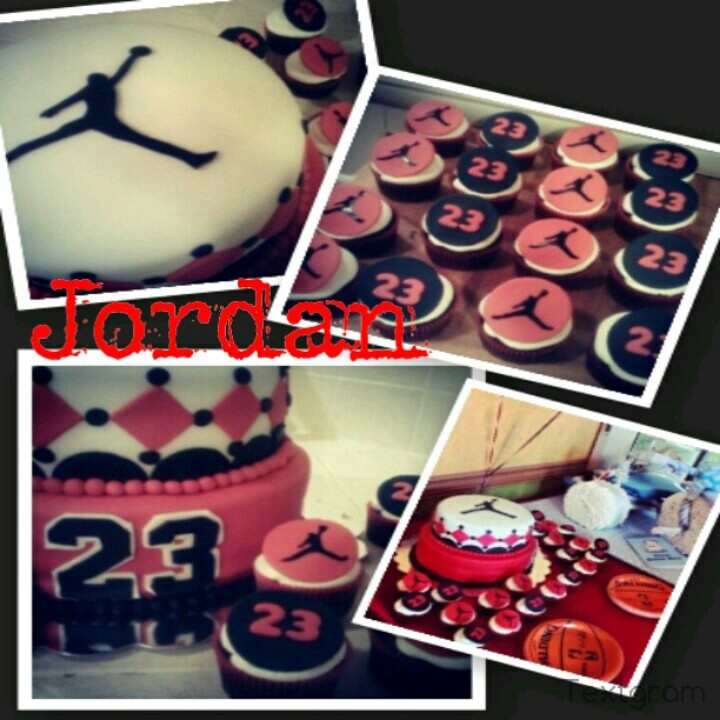 jordan theme baby shower created by bellas sugar cups