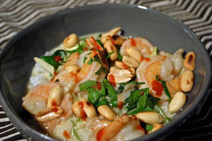 Thai Green Curry Shrimp | I eat like a caveman! | Pinterest