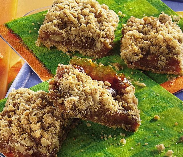 Easy Caramel Apple Bars Recipe | I'm Hungry! | Pinterest