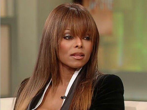 Janet Jackson Hairstyles