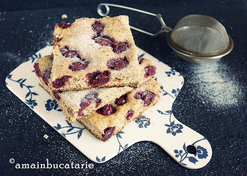 Hungarian Sour Cherry Cake | Hungarian recepies | Pinterest