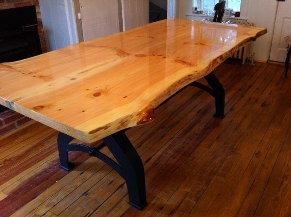 live edge kitchen table for our house woodworking pinterest