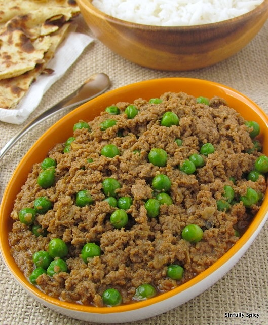 Keema Matar - Ground meat with peas | Food: It's what's for dinner ...