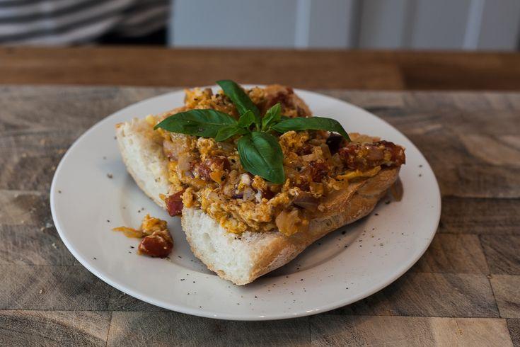 Chorizo Scrambled Eggs | Recipes: Breakfast Eats | Pinterest