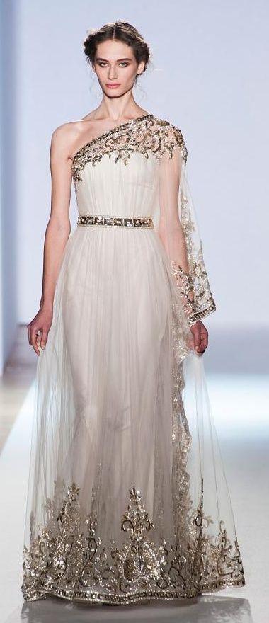 Goddess wedding dress for Goddess style wedding dresses