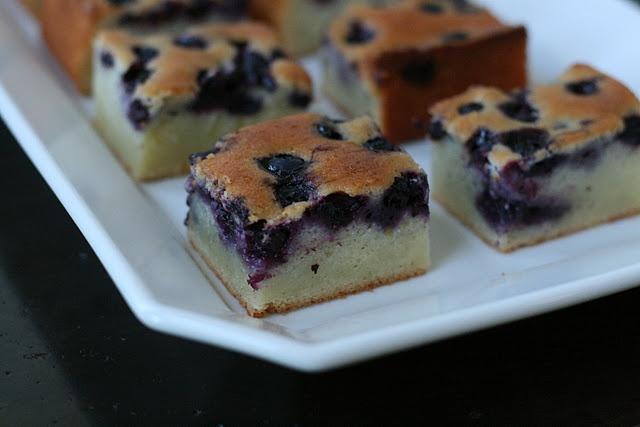 blueberry vanilla bean mochi cake | Foodie | Pinterest